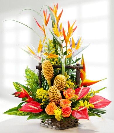 Tropical Fire Basket